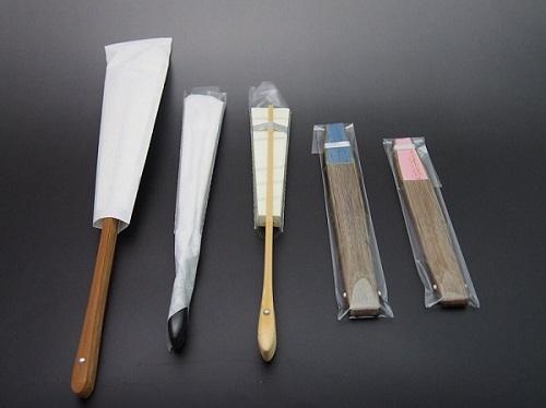 扇子の包装例1