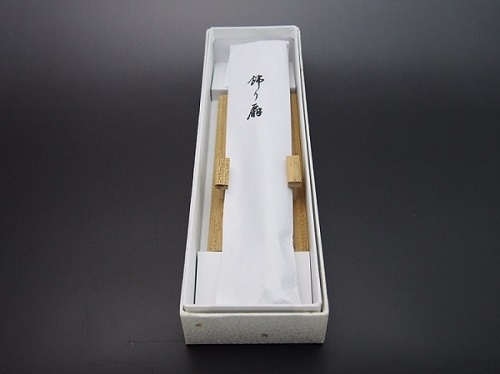 扇子の包装例3