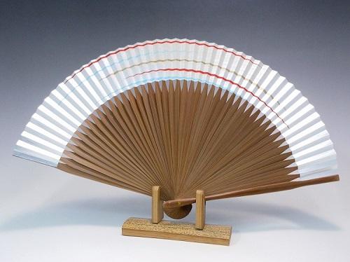 扇子(女性用)本銀地カスミ